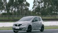 Dacia Renault Sandero RS Brasilien Video