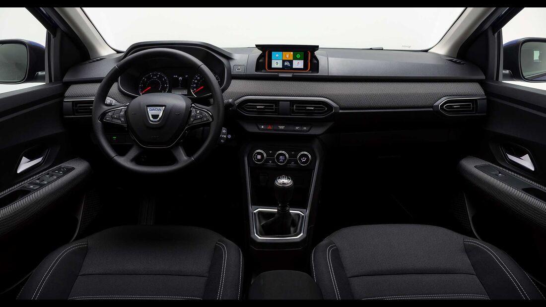 Dacia Sandero (2021) Embargo 29.09., 6 Uhr