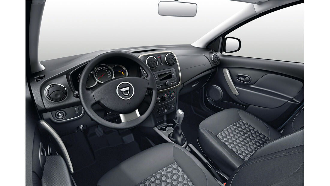 Dacia Sandero, Cockpit, Lenkrad