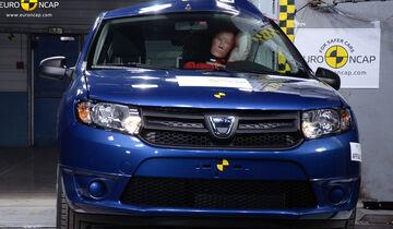 Dacia Sandero EuroNCAP-Crashtest