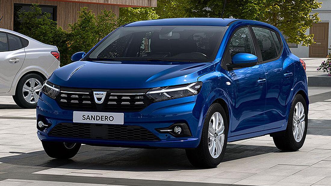 Dacia Sandero, Exterieur