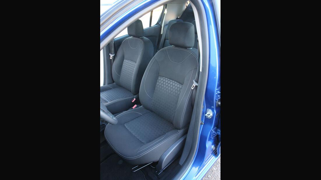 Dacia Sandero, Fahrersitz