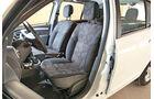 Dacia Sandero, Innenraum, Sitze