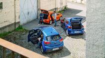 Dacia Sandero, Kia Rio, Renault Cliio