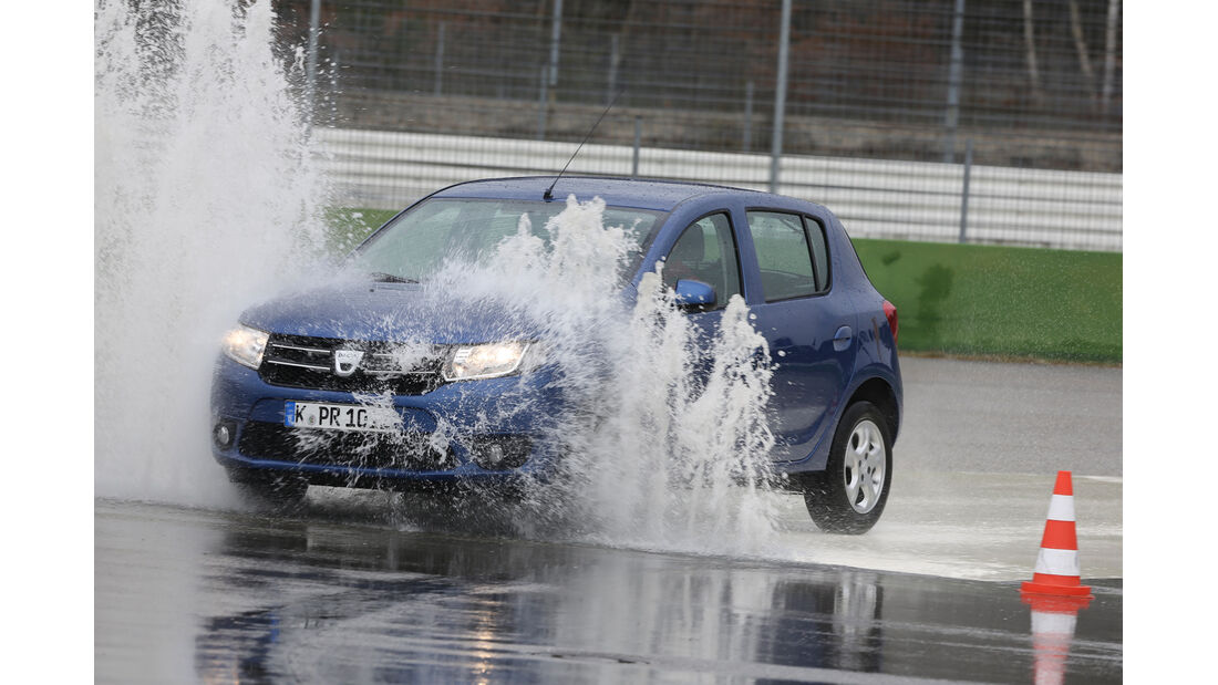 Dacia Sandero, Nässe, ESP