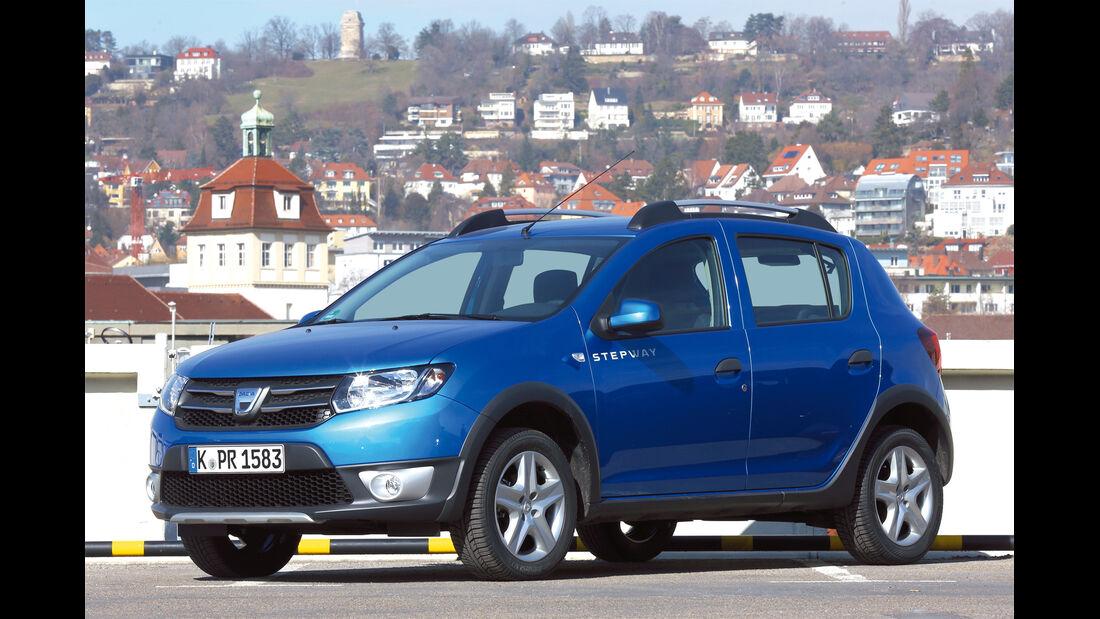 Dacia Sandero, Seitenansicht