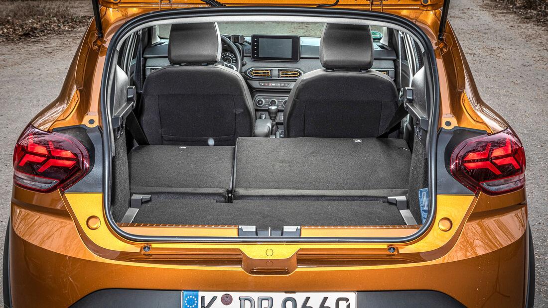 Dacia Sandero Stepway TCe 90 Comfort, Kofferraum