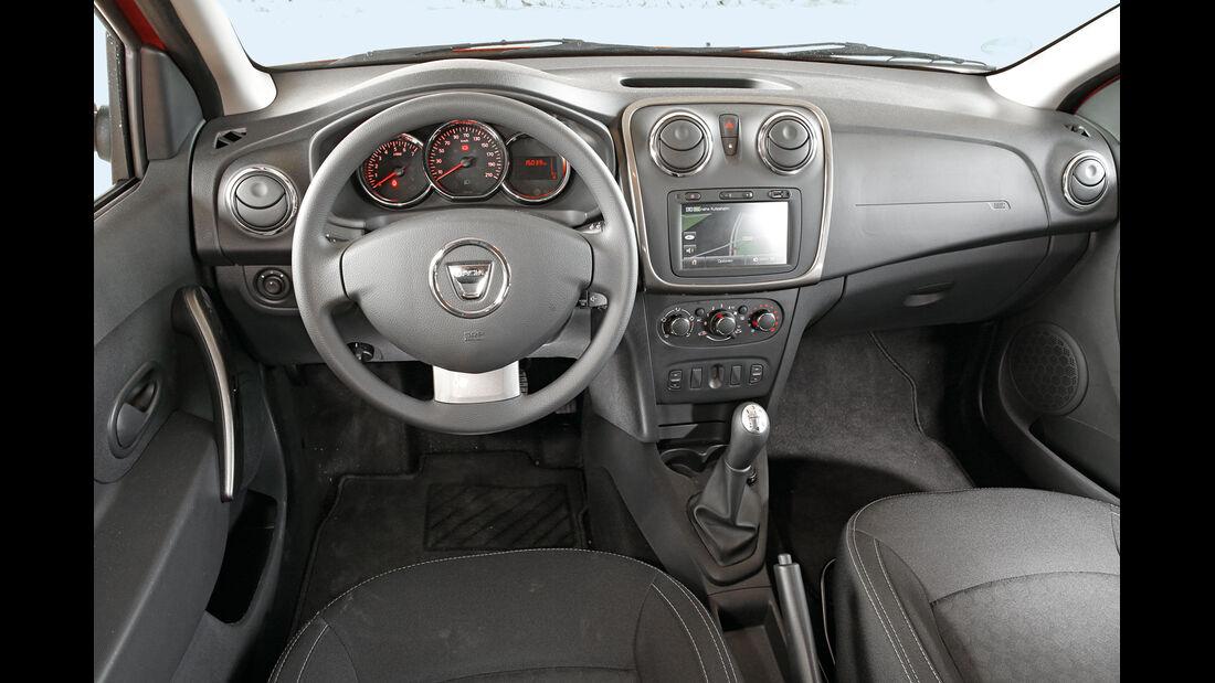 Dacia Sandero TCe 90, Cockpit