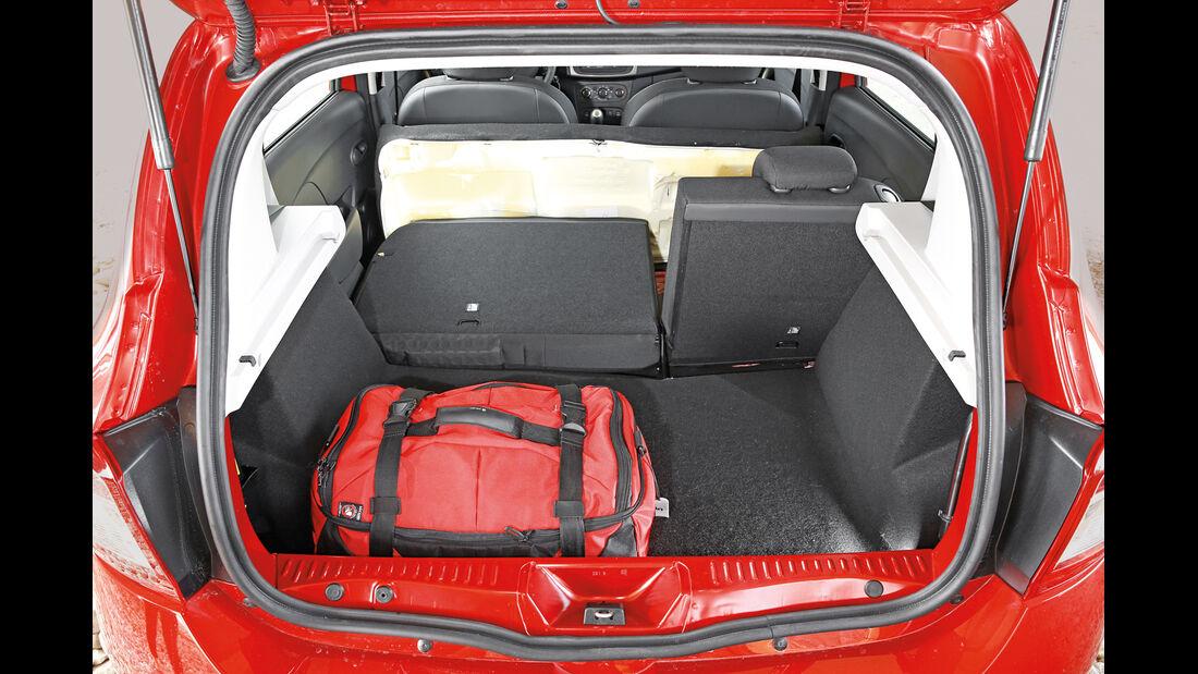 Dacia Sandero TCe 90, Kofferraum
