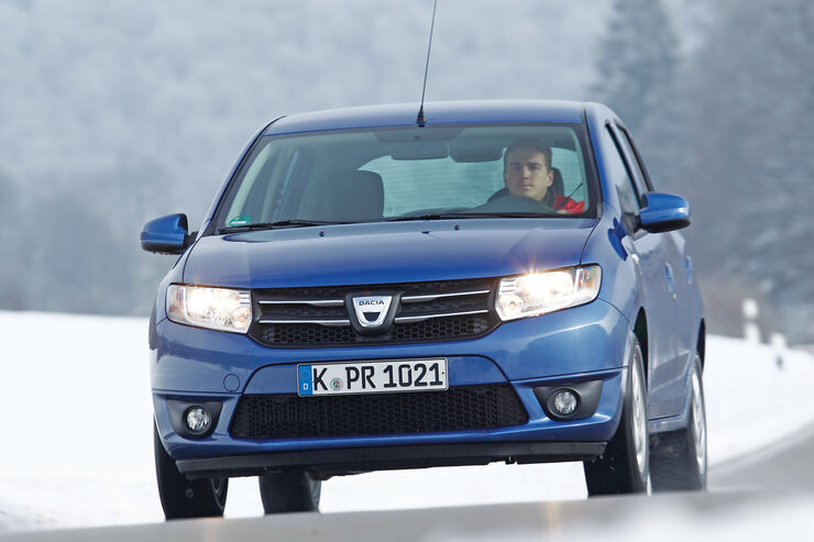 Dacia Sandero TCe 90 Lauréate, Frontansicht