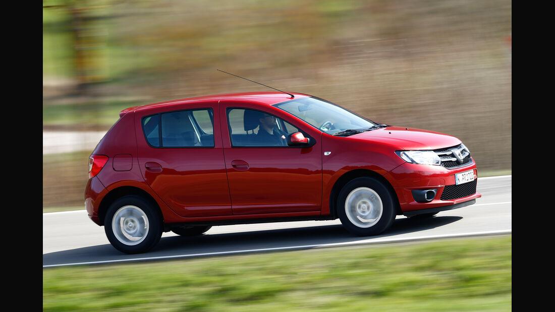 Dacia Sandero TCe 90, Seitenansicht