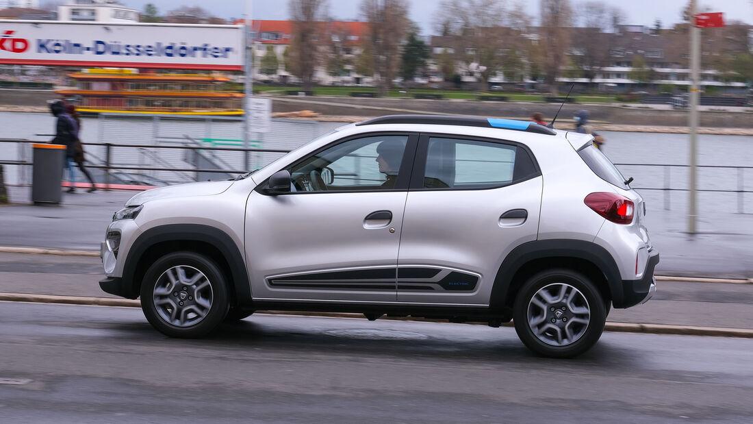 Dacia Spring Electric Fahrbericht