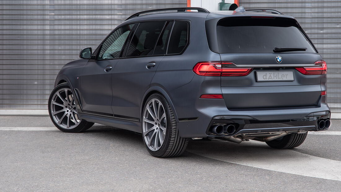 Dähler Competition Line BMW X7 Tuning