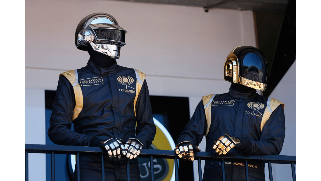Daft Punk - GP Monaco 2013 - VIPs & Promis