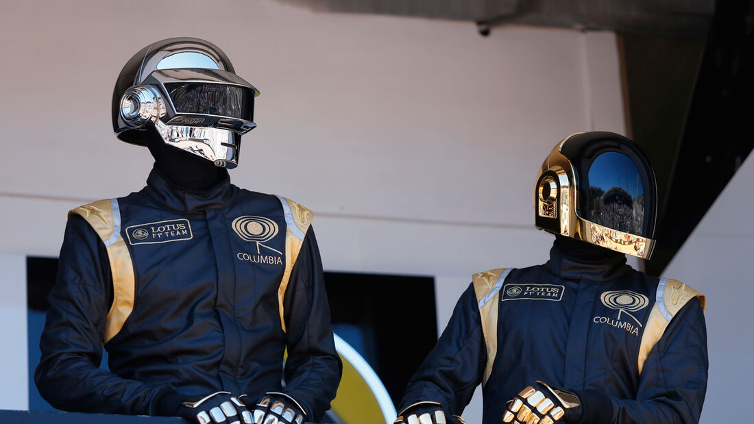Daft Punk Lotus GP Monaco 2013