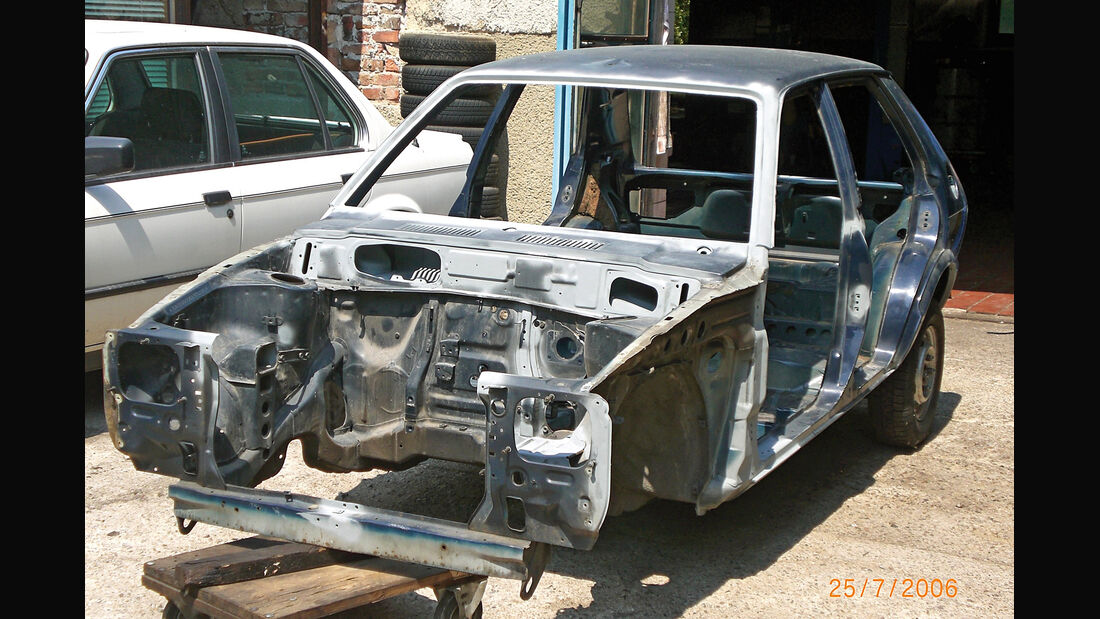 Daihatsu Charade G10, Chassis