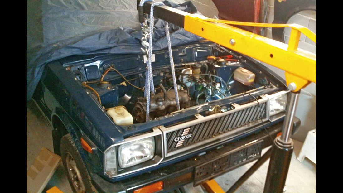 Daihatsu Charade G10, Motor