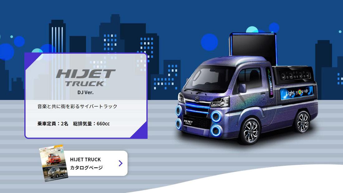 Daihatsu Concept Cars Tokio 2020