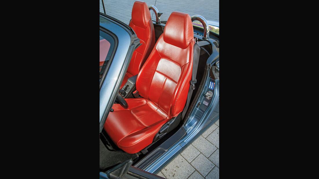 Daihatsu Copen, Fahrersitz