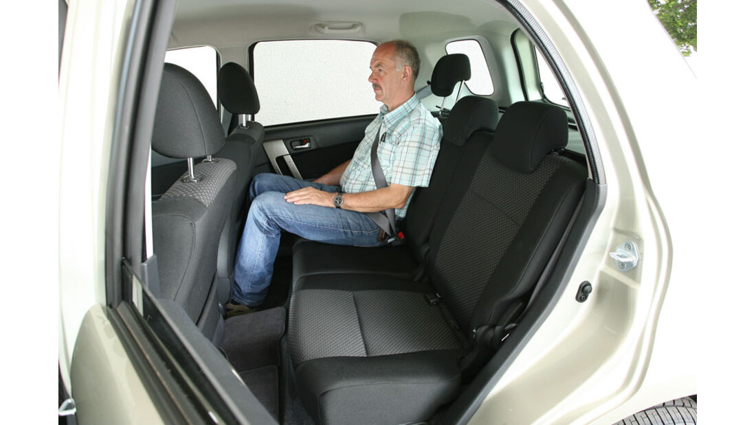 Daihatsu Terios 1.5 2WD, Fond, Rückbank
