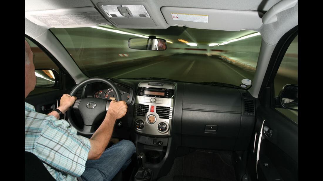 Daihatsu Terios 1.5 2WD, Innenraum