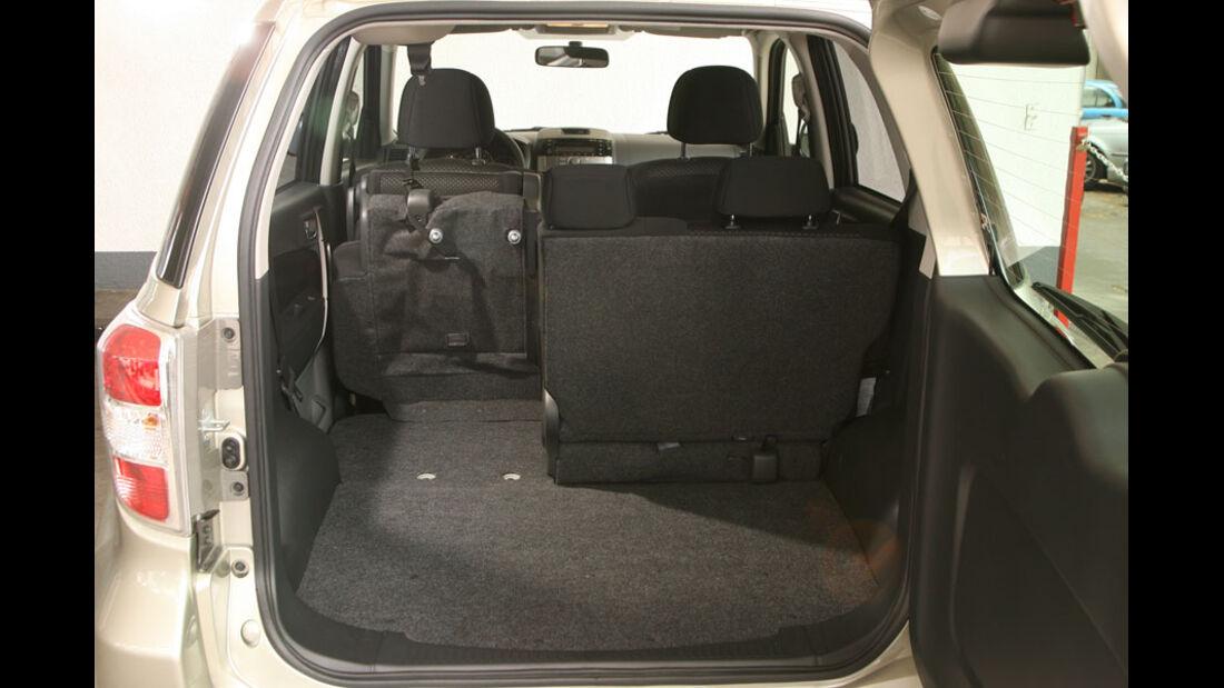 Daihatsu Terios 1.5 2WD, Kofferraum