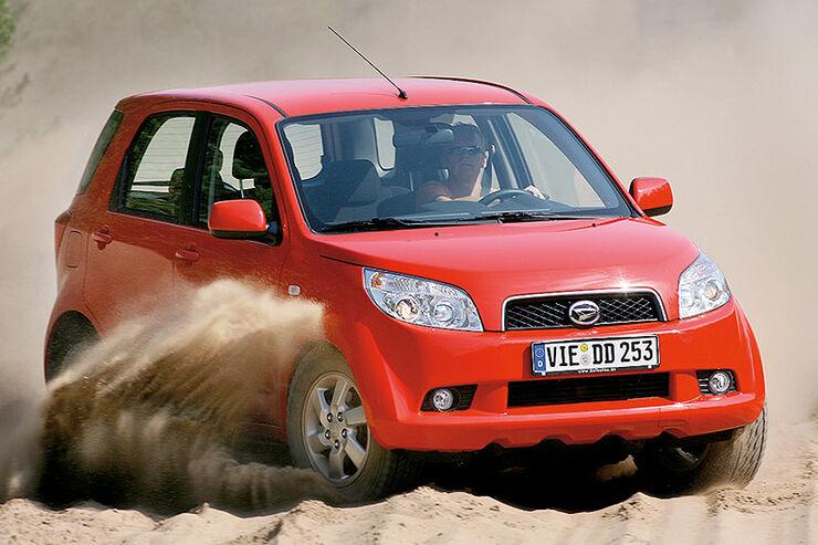 Daihatsu Terios 1.5 4WD im 4wheelfun-Supertest