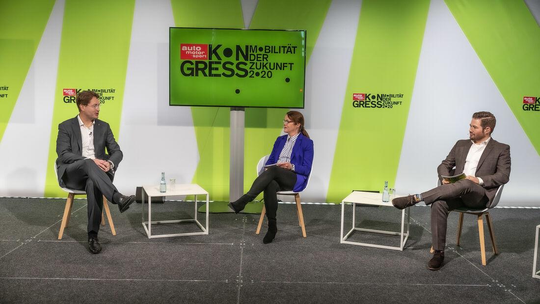 Daimler AG CEO Ola Källenius im Gespärch mit den AMS Chefredakteuren.