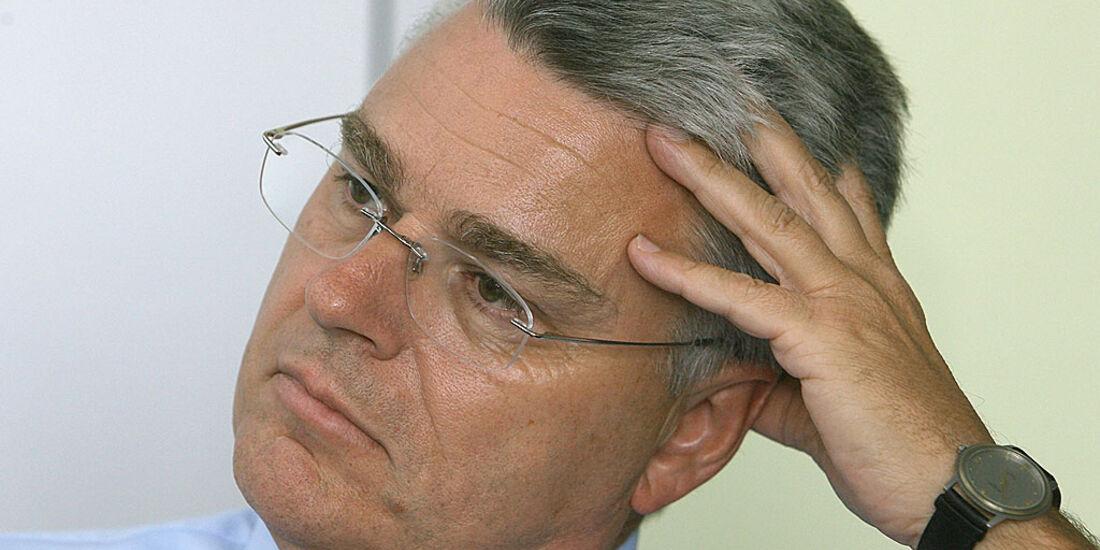 Daimler-Betriebsratschef Erich Klemm