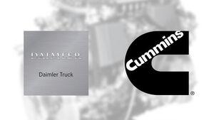 Daimler Cummins Lkw-Motoren-Kooperation
