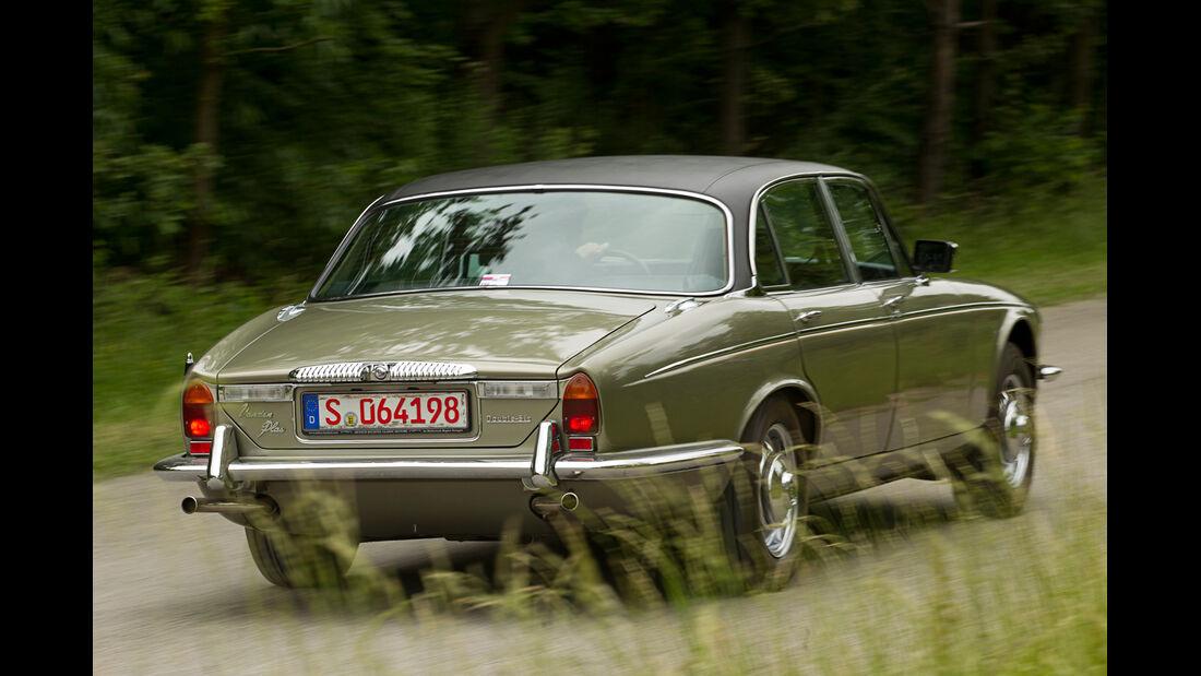 Daimler Double Six, Heckansicht