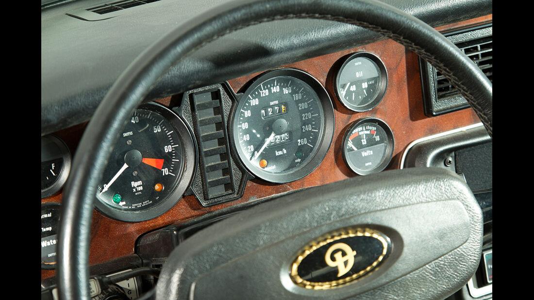 Daimler Double Six, Lenkrad, Detail