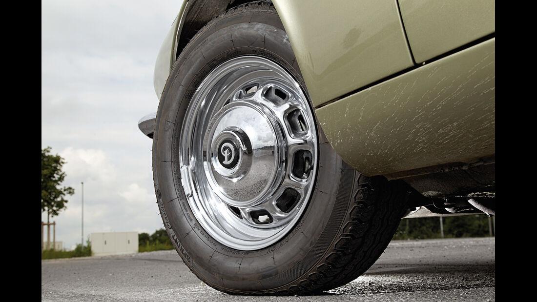 Daimler Double Six, Rad, Felge