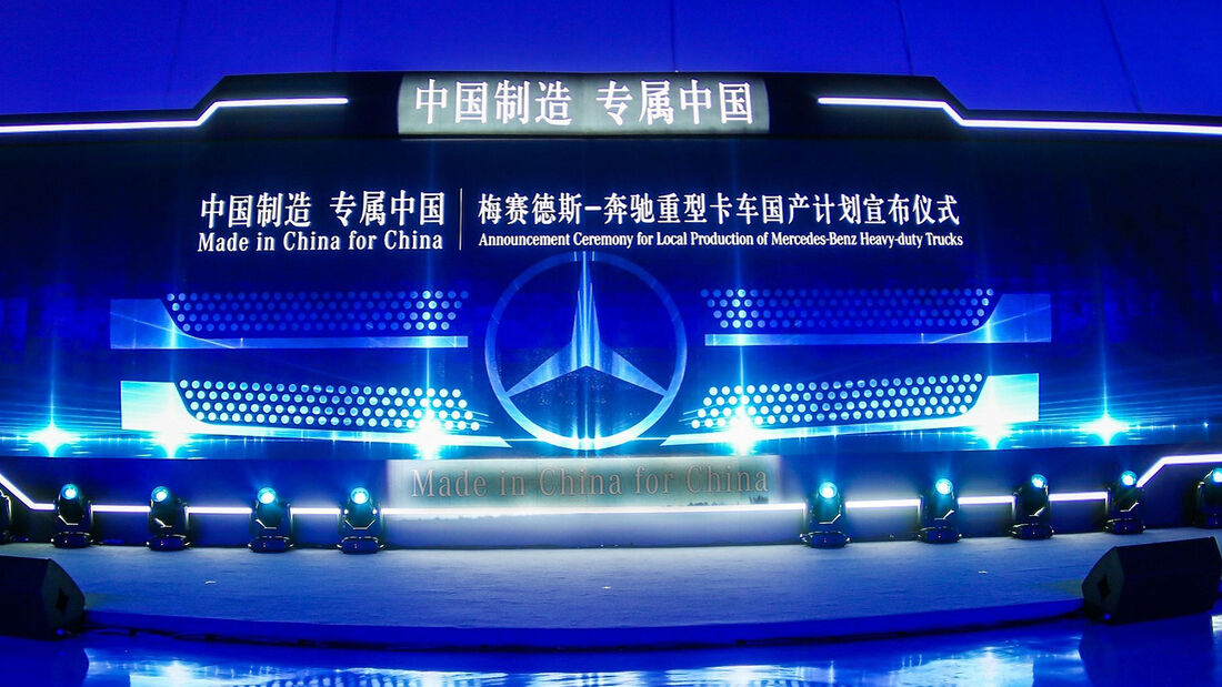 Daimler Foton Lkw-Produktion China