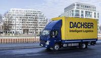 Daimler Fuso eCanter Elektro-Lkw erster Test