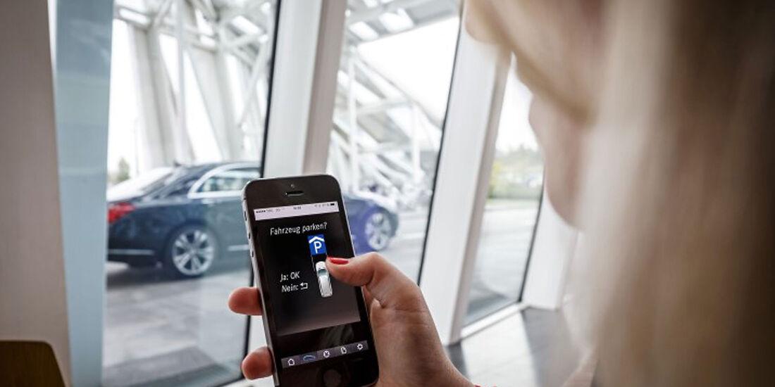 Daimler Mercedes Bosch Valet Parking