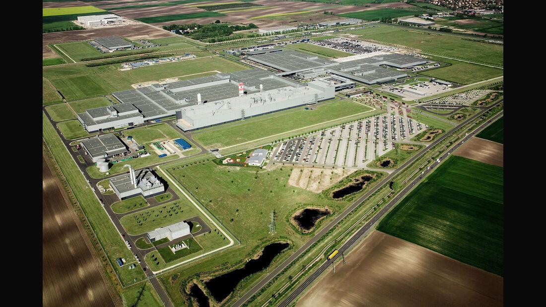 Daimler Mercedes Werk Kecskemét