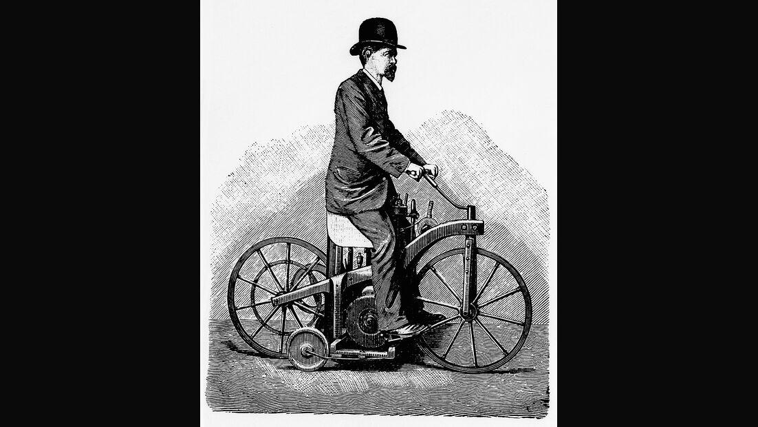 Daimler Reitwagen 1885, Gottlieb Daimler