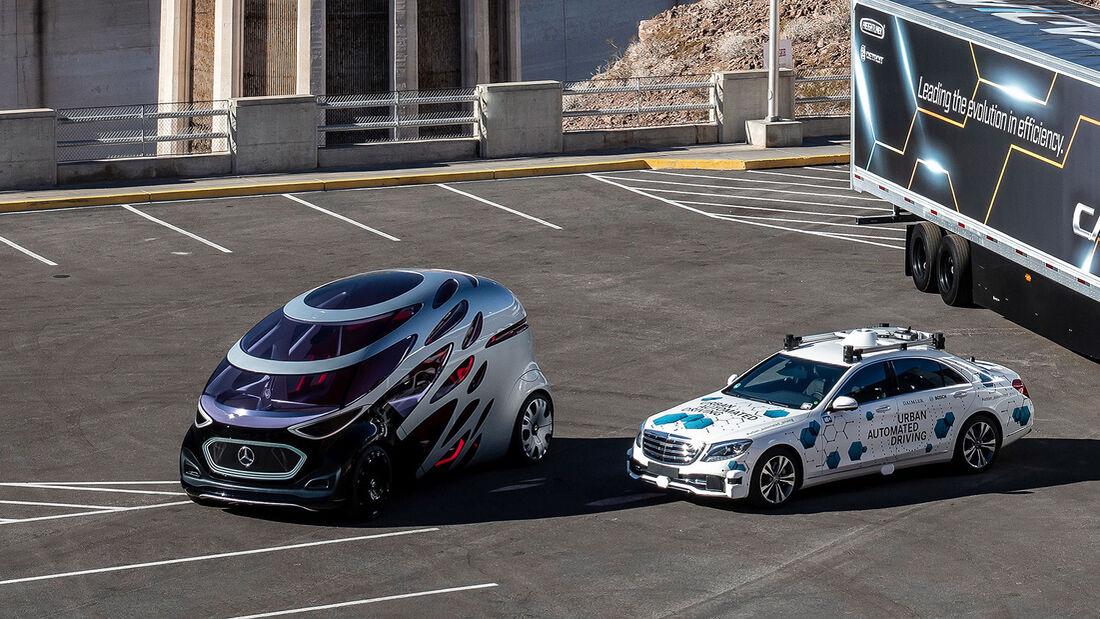 Daimler Robotaxi Athena