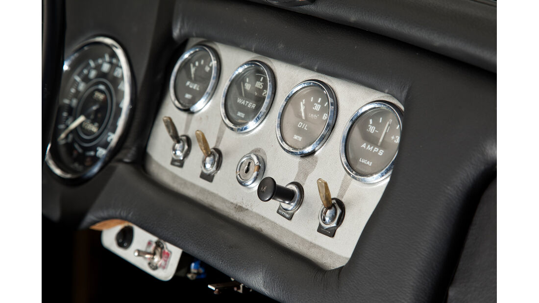 Daimler SP 250, Bedienelemente