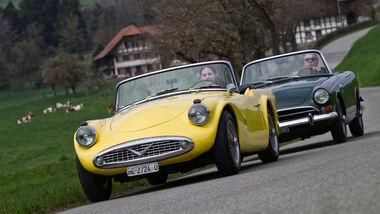 Daimler SP 250, Sunbeam Alpine, Frontansicht