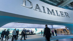 Daimler Schriftzug Logo