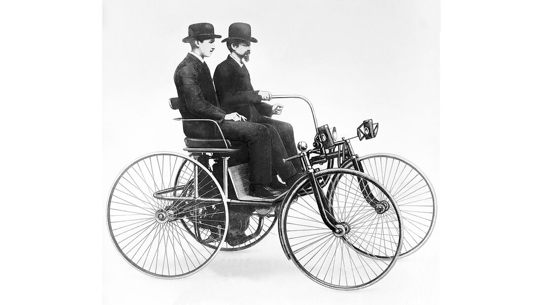 Daimler Stahlradwagen 1889, Gottlieb Daimler