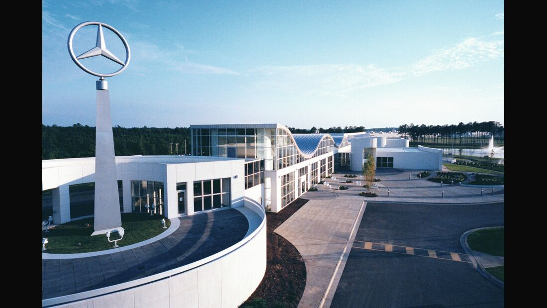 Daimler produziert die C-Klasse ab 2014 auch in Tuscaloosa.