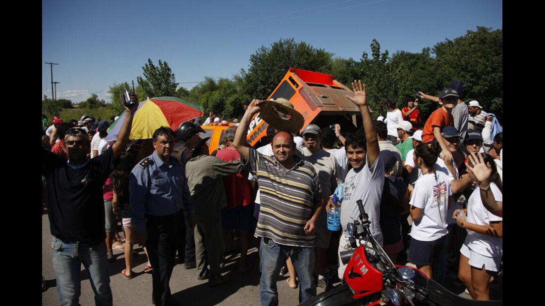 Dakar 2011 Fans