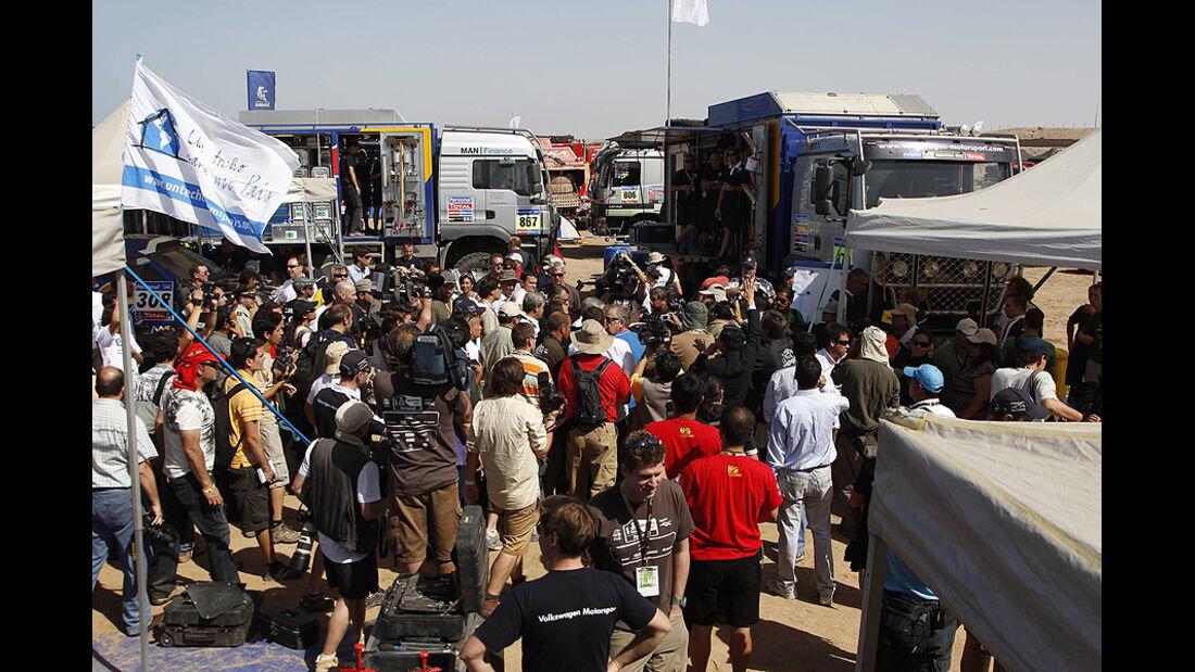 Dakar 2011 Ruhetag