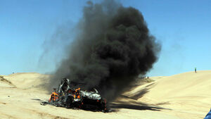 Dakar 2012 Alfie Cox Unfall