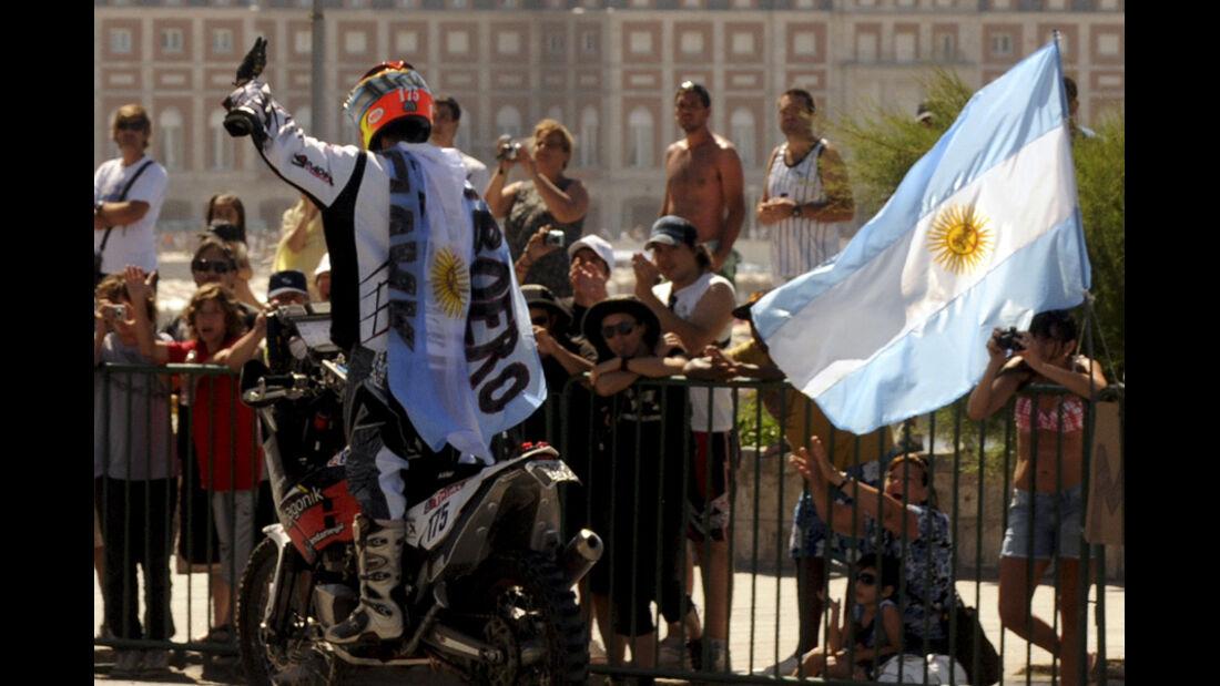 Dakar 2012 Jorge Martínez Boero