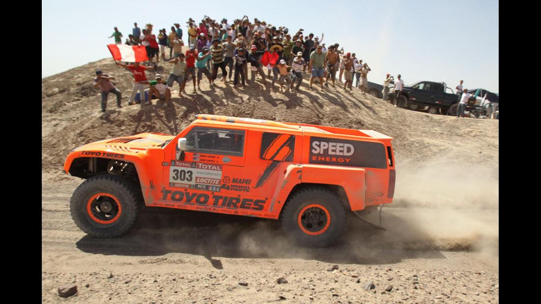 Dakar 2012 Robby Gordon Hummer