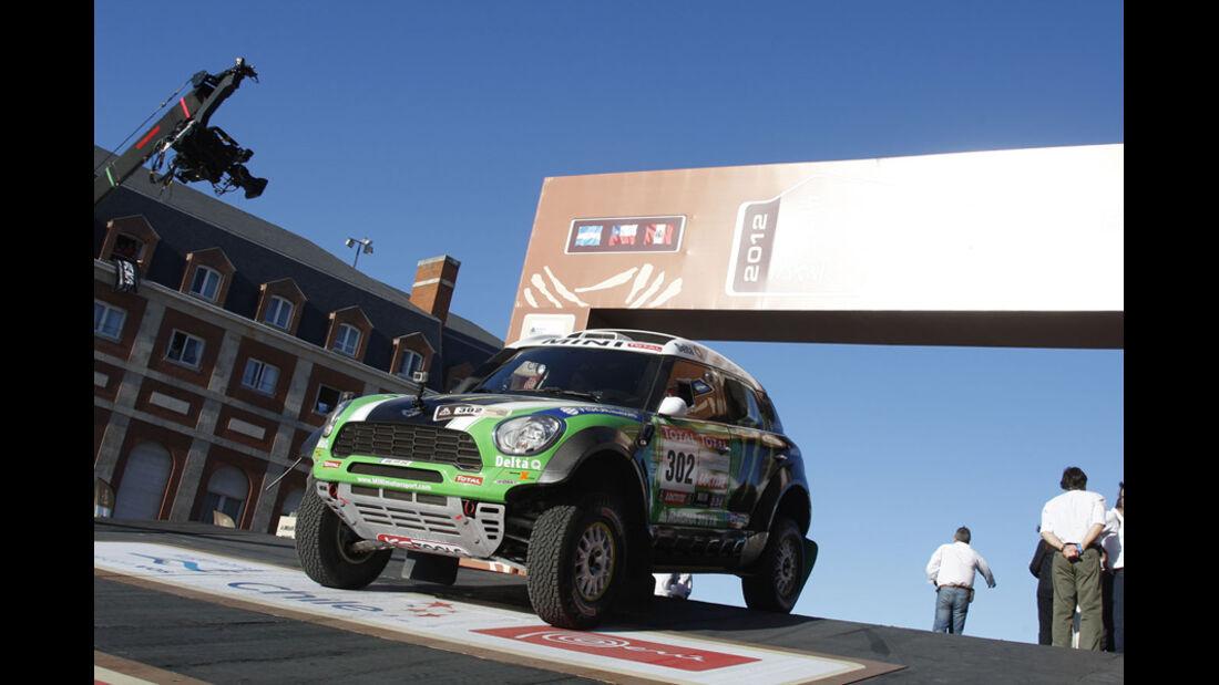 Dakar 2012 Start Peterhansel